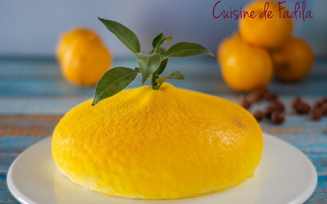 Biscuit Joconde noisette citron